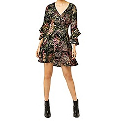 Warehouse - Wild floral tea dress