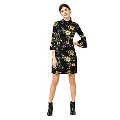 Warehouse - Dutch floral ponte dress