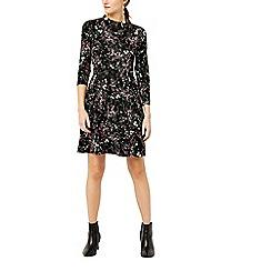 Warehouse - Sprig floral channel dress