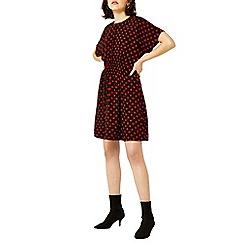 Warehouse - Spot print dress