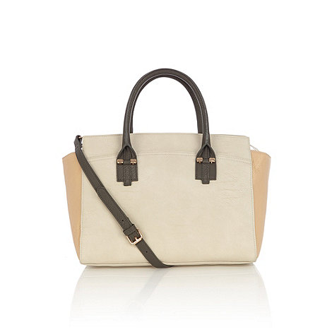 Warehouse - Warehouse colourblock tote bag