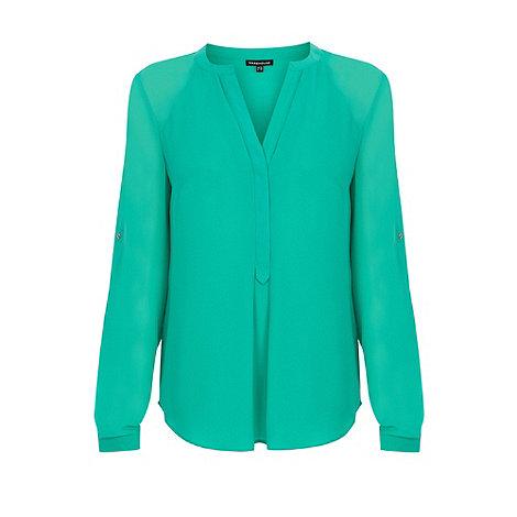Warehouse - Sheer sleeve tunic