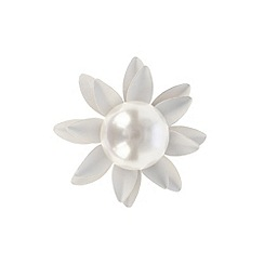 Coast - Pearl flower earrings
