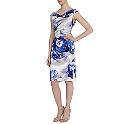 Coast - Debenhams exclusive - Leah duchess satin print dress