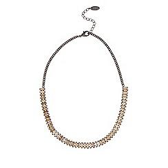 Coast - Baguette stone necklace