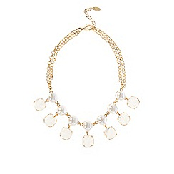 Coast - Pearl & sparkle necklace