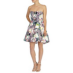 Coast - Shayla printed bandeau dress