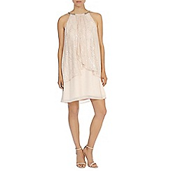 Coast - Kendra neck trim dress