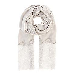 Coast - Lace insert scarf