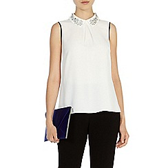 Coast - Jocelyn beaded top