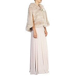 Coast - Carrie faux fur tie cape