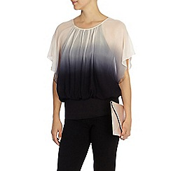 Coast - Dip dye calla top