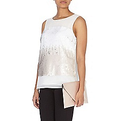 Coast - Violeta sequin top