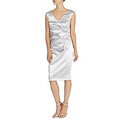 Coast - Della duchess satin dress
