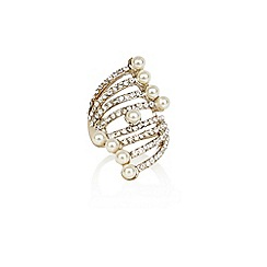 Coast - Flo pearl ring