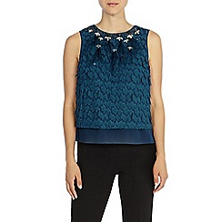 Coast - Romina feather top