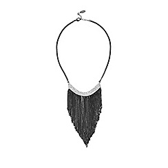 Coast - Statement tassel necklace