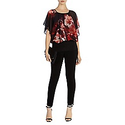Coast - Anata printed calla top