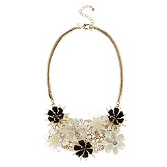 Coast - Cali cluster floral necklace