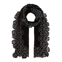 Coast - Corine mono lace edge scarf