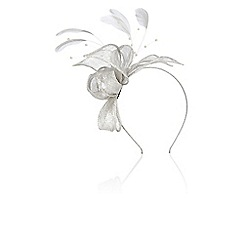 Coast - Pearl bead fascinator