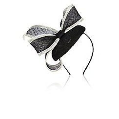 Coast - Penny bow pill box fascinator