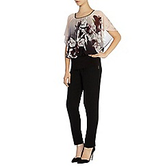 Coast - Winter lily printed calla top