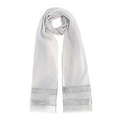Coast - Shimmer stripe scarf