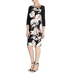Coast - Debenhams exclusive 'Shadow' lily print anna dress