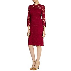 Coast - Debenhams exclusive 'Cassia' lace sleeved dress