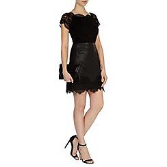 Coast - Taylor pu lace skirt