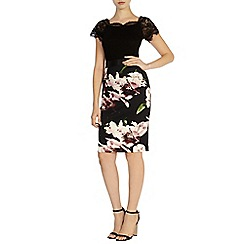 Coast - Winter lily pencil skirt