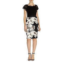 Coast - Debenhams exclusive 'Monza' print pencil skirt