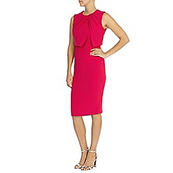 Coast - Debenhams exclusive 'Lerina' knot crepe dress