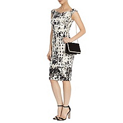Coast - Mono print teegan dress