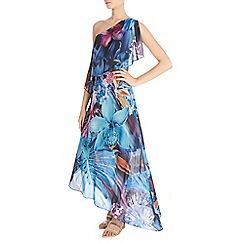Coast - Mavi one shoulder maxi dress