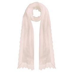 Coast - Ladder edge lace scarf
