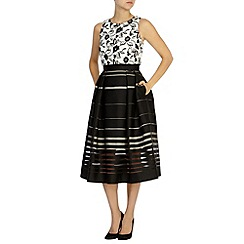 Coast - DORIAN STRIPE SKIRT DRESS