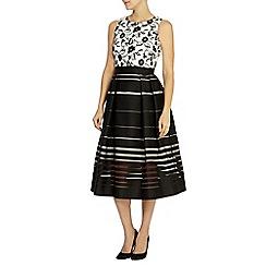 Coast - Dorian stripe dress petite