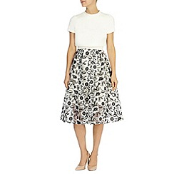 Coast - SHARON FLORAL SKIRT DRESS