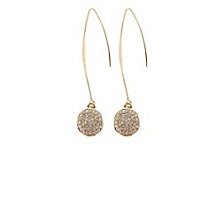 Coast - Teardrop longline earrings