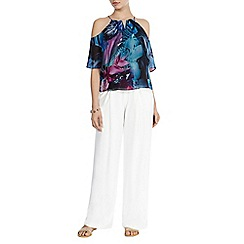 Coast - Maui printed cold shoulder top