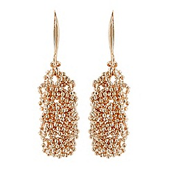 Coast - Sparkle chain earrings