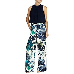 Coast - Rome printed wide leg trousers