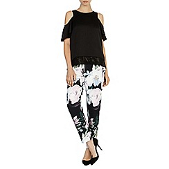 Coast - Debenhams exclusive 'Fitzroy' printed trousers