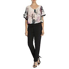 Coast - Debenhams exclusive 'Vittoria' printed calla top