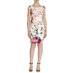 Coast - Debenhams exclusive 'Bossa' print dress petite