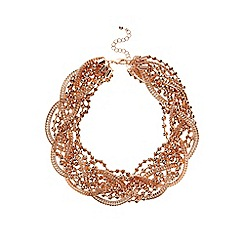 Coast - Twist cluster necklace