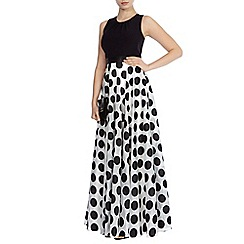 Coast - Dotty maxi dress