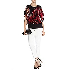 Coast - Elena printed calla top